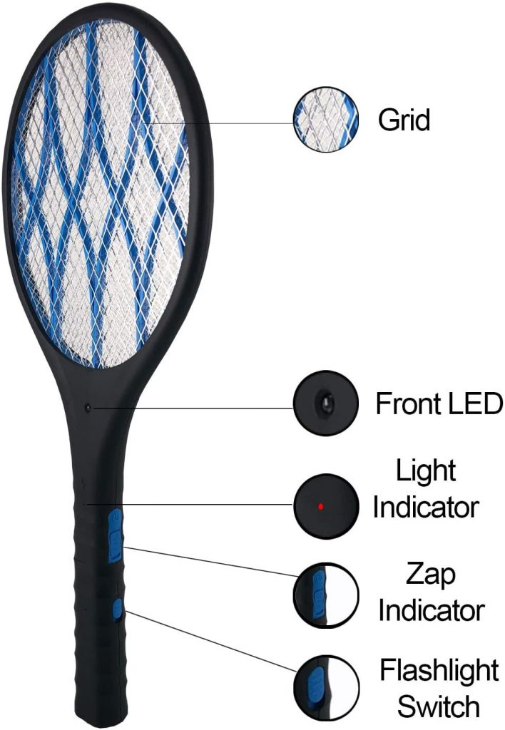 FLY SWATTER RACKET bug zapper